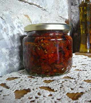 Pickled Florina peppers